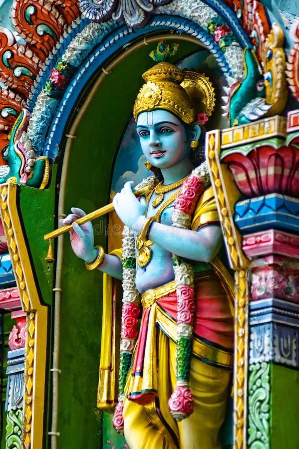 Indischer Gott stockfoto
