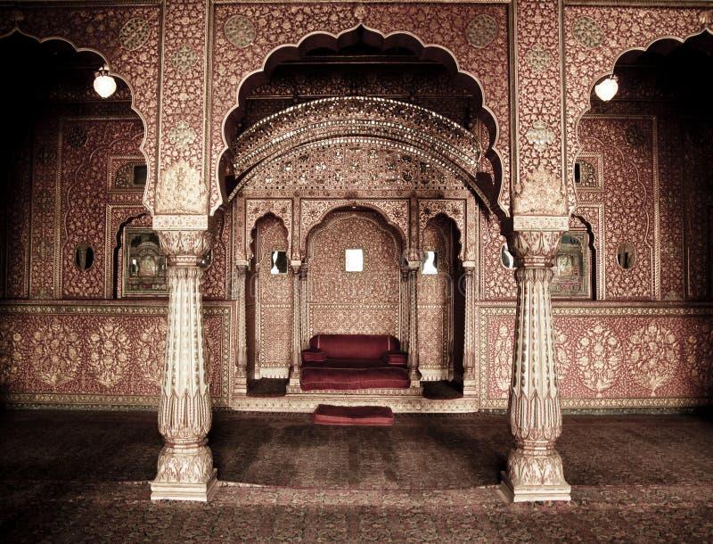 Indischer Innenraum lizenzfreie stockfotografie