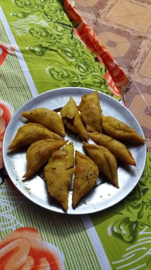 Indischer Kuchen stockbilder