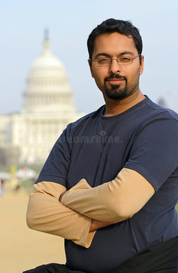 Download Indischer Mann In Washington Stockfoto - Bild von draußen, vertikal: 3272252