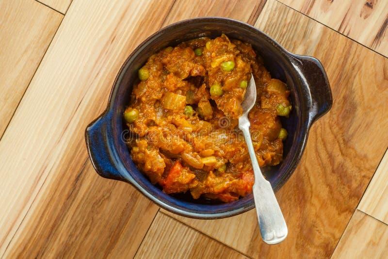 Indischer Nahrungsmittelvegetarier Thali lizenzfreie stockfotos