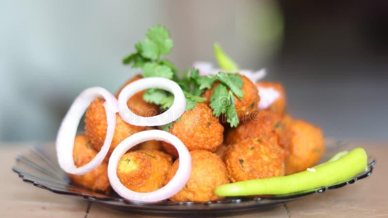 Indischer Snack stockbilder