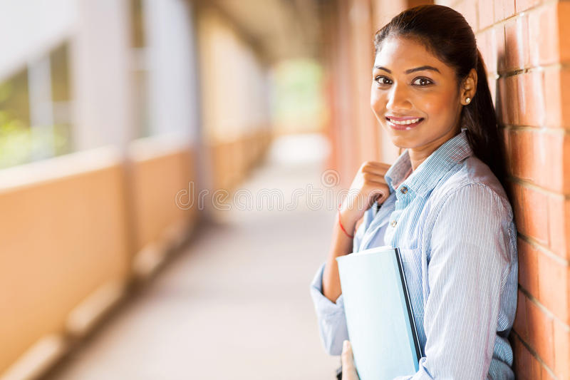 Indischer Student lizenzfreies stockfoto