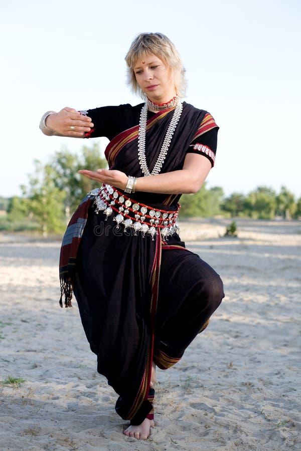 Indischer Tanz stockbilder