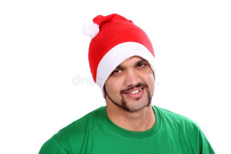 Indischer Weihnachtskerl stockbilder