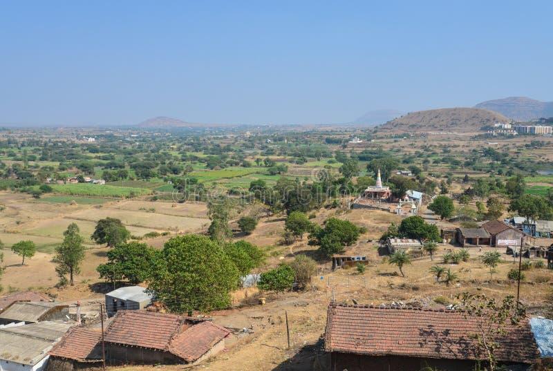 Indisches Dorf stockfoto