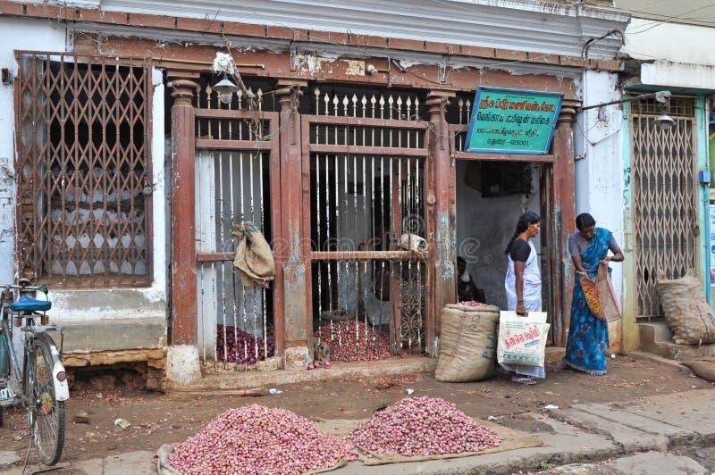 Indisches Einkaufen lizenzfreies stockfoto