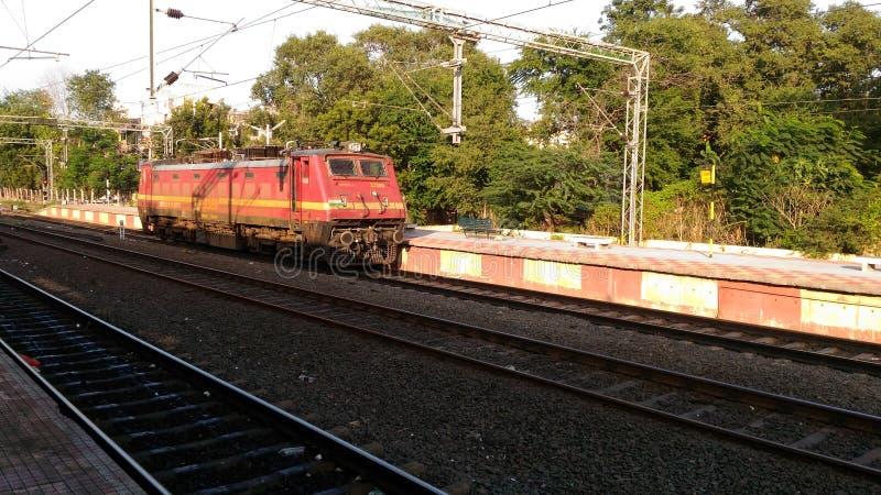 Indisches Gleis stockfotos