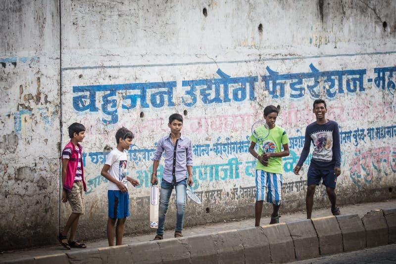Indisches Kinderspielen lizenzfreie stockfotografie