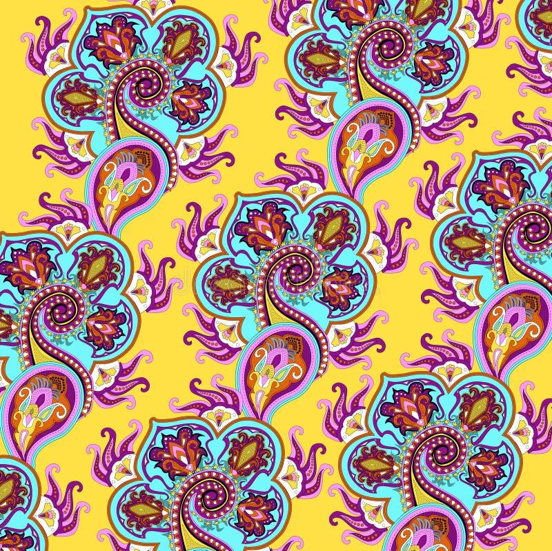Indisches Muster stock abbildung