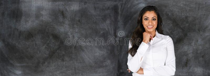 Indisk affärskvinna på arbete royaltyfri fotografi