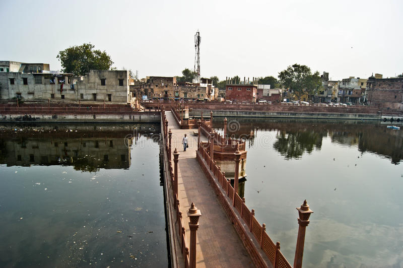 Indisk bro arkivfoton
