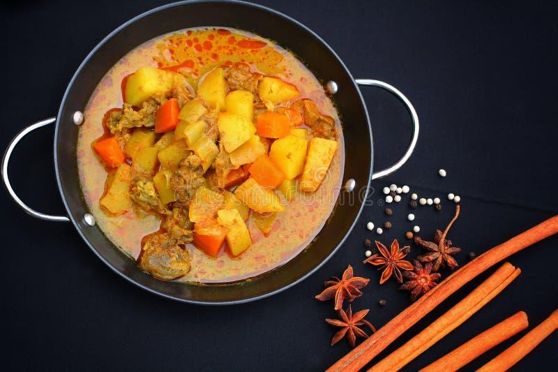 Indisk curry och kryddor. royaltyfria foton