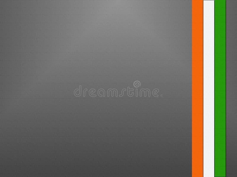 Indisk flagga på självständighetsdagen av Indien arkivfoto