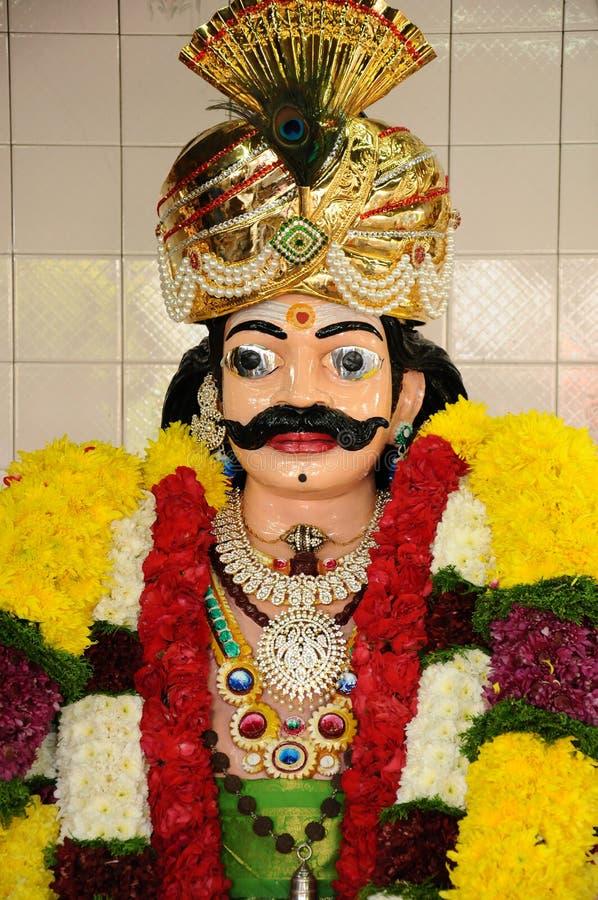 Indisk gud royaltyfria bilder