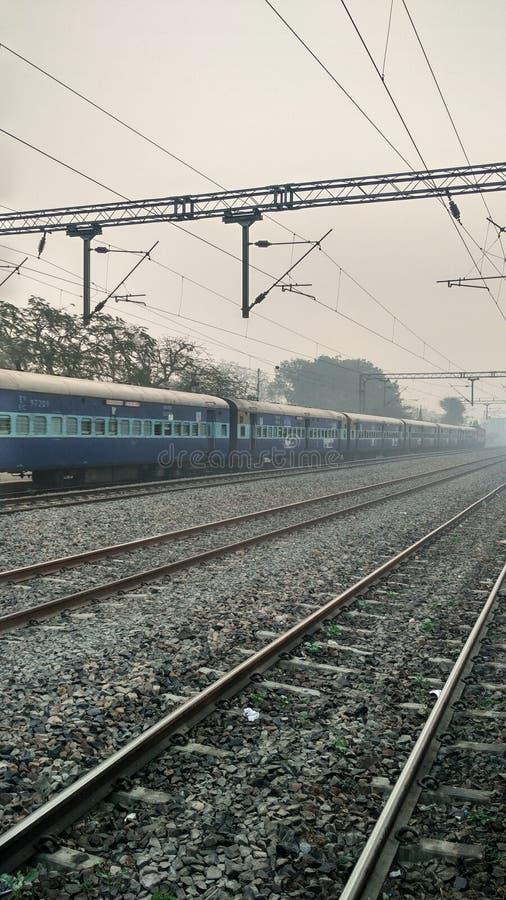 Indisk järnväg för drev @ Spår och drev royaltyfri bild