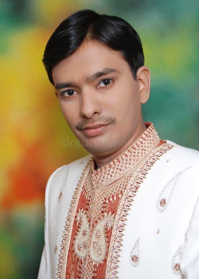 indisk manstående royaltyfria bilder