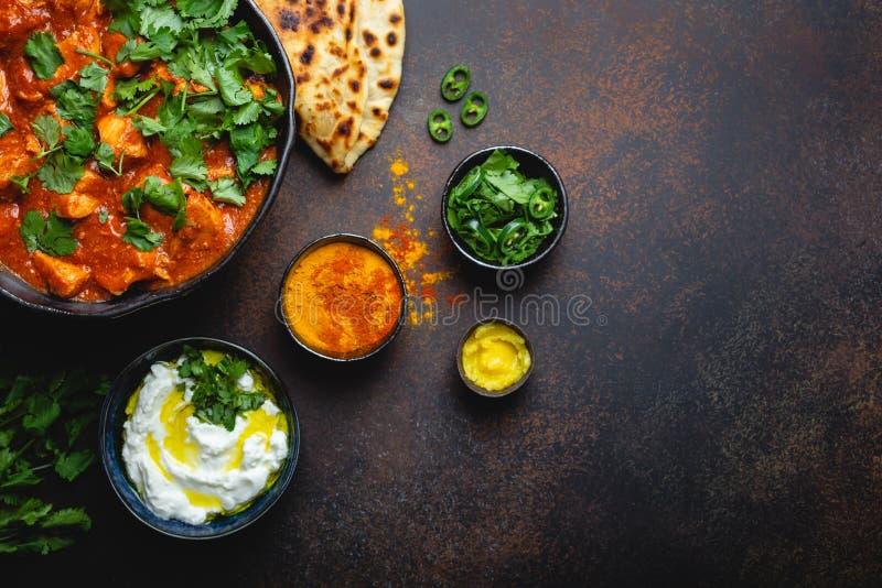 Indisk masala för maträtthönatikka fotografering för bildbyråer