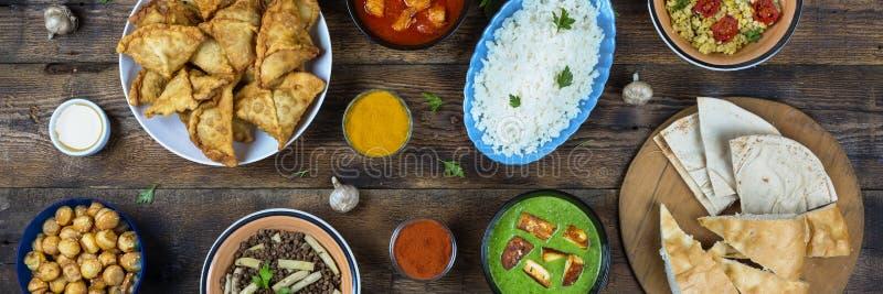 Indisk mat Indisk kokkonst royaltyfria foton