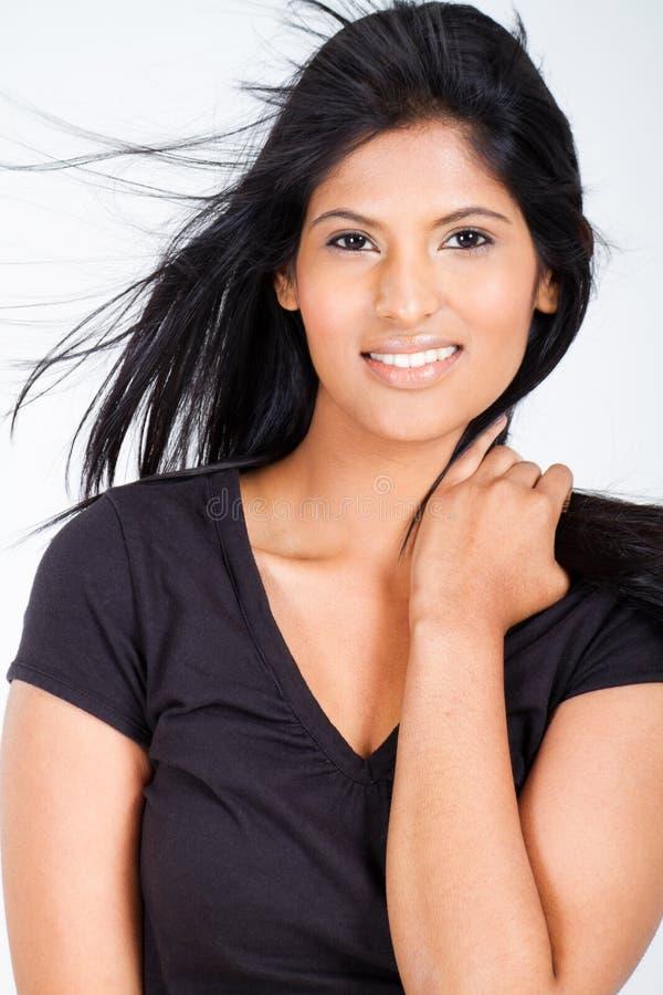 Indisk modekvinna arkivbilder