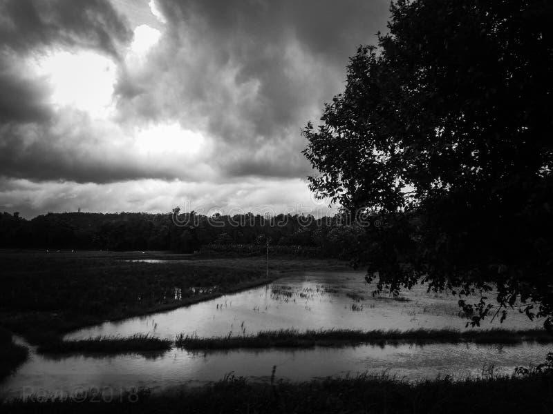 indisk monsoon fotografering för bildbyråer