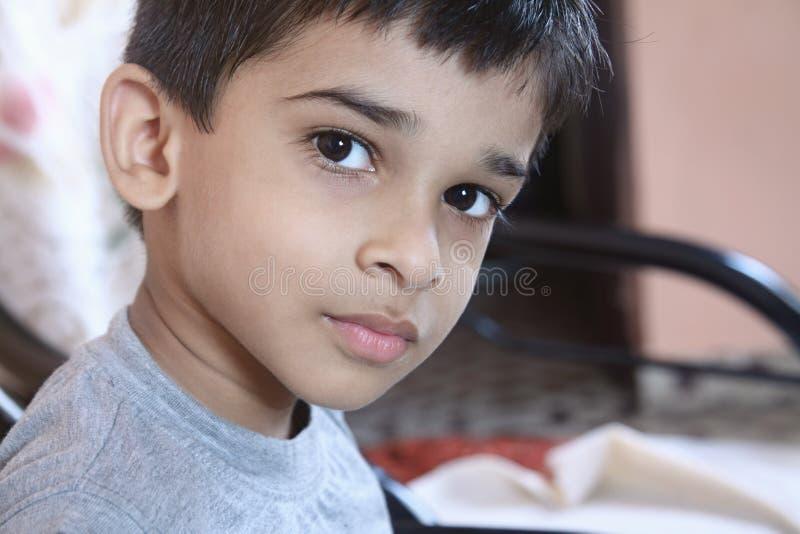Indisk pojke royaltyfria foton