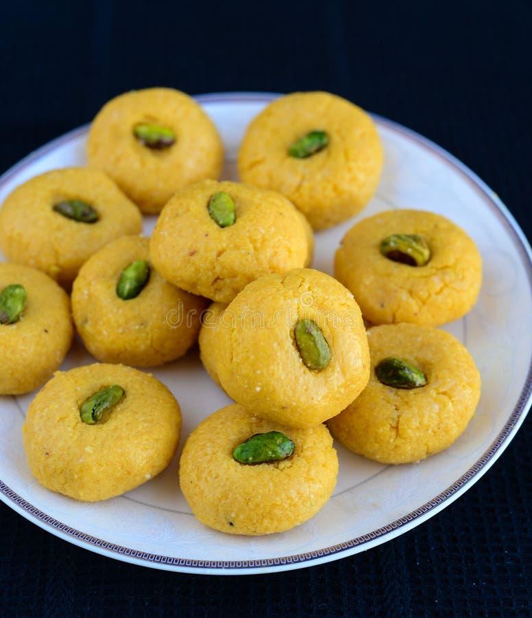 Indisk sötsak - mango Peda arkivfoton