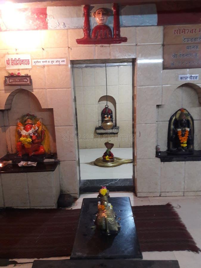Indisk tempel i mumbai läge royaltyfri fotografi