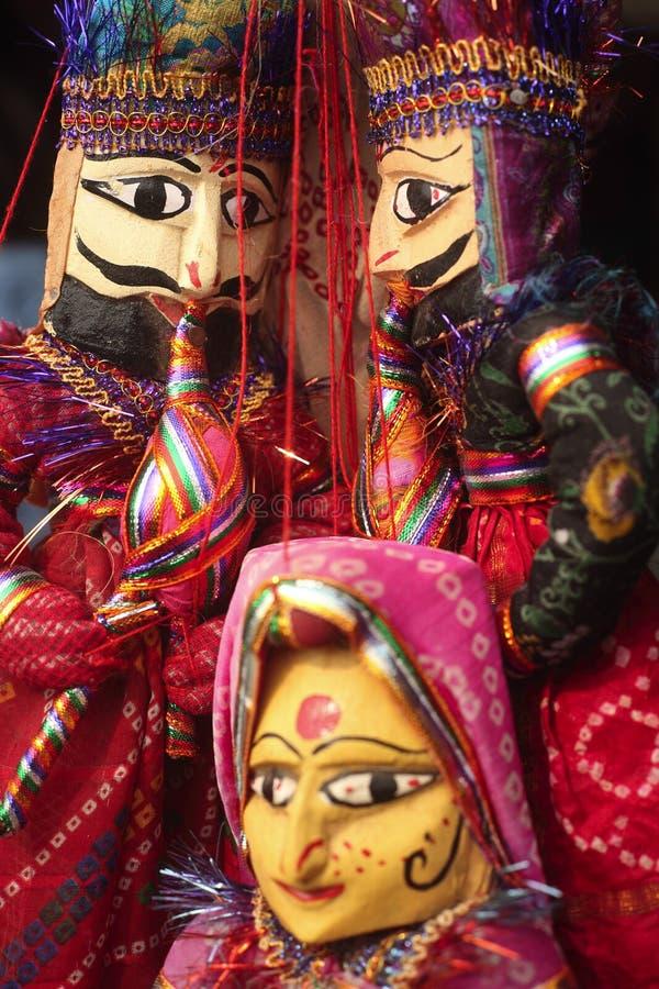 indiska dockor arkivbilder