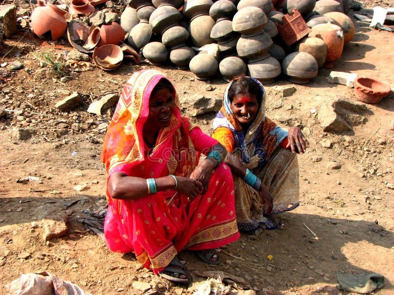 indiska kvinnor royaltyfri foto