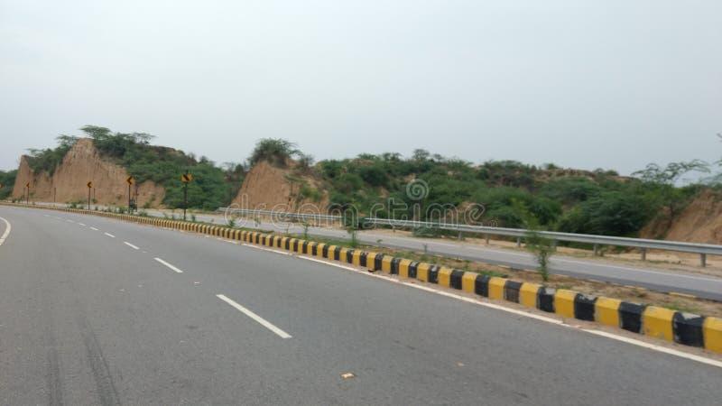Indiska små Citi huvudvägar royaltyfri bild