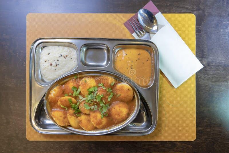 Indiska vegetariska kakor royaltyfri fotografi