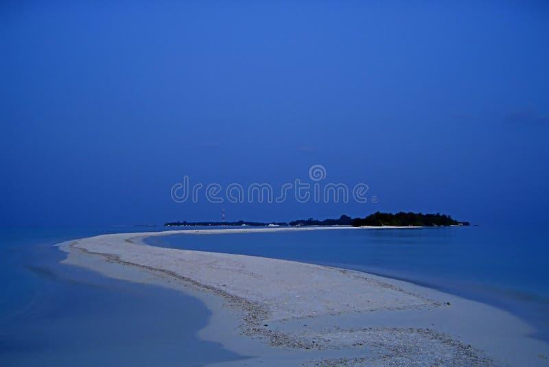 indiskt öhav för afton royaltyfri fotografi