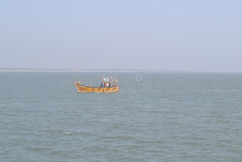 Indiskt fantastiskt havsfartyg arkivfoto