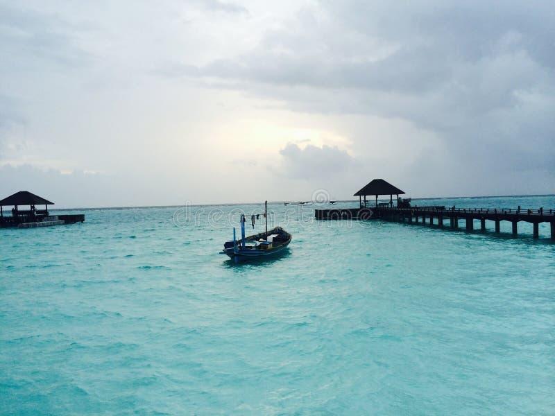 Indiskt hav fotografering för bildbyråer