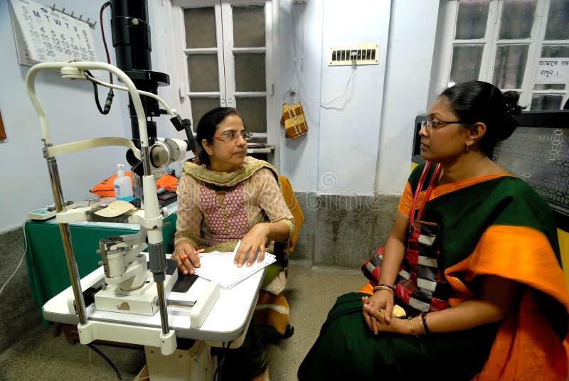 Indiskt sjukhus royaltyfri foto