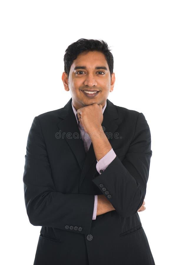 Indiskt tänka för man royaltyfria foton