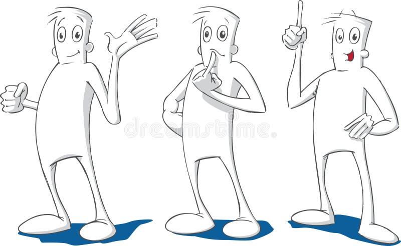 Indivíduo útil ilustração do vetor