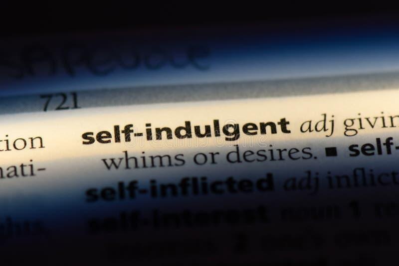 individu indulgent image libre de droits