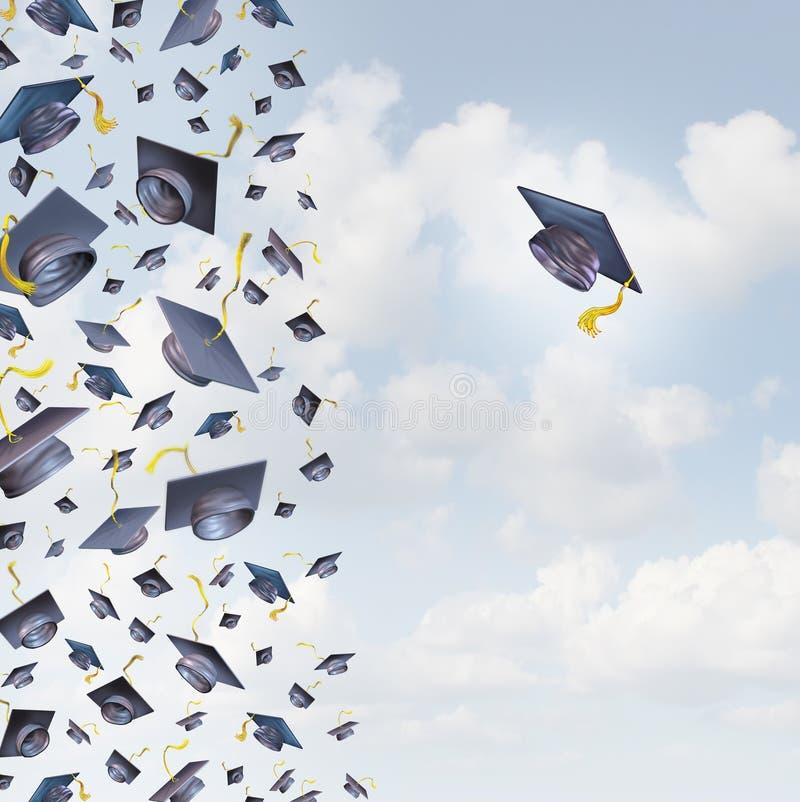 Individual Education stock illustration