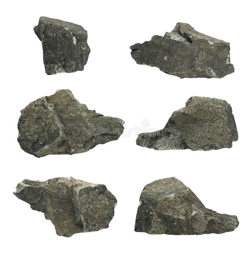 Individual Rocks royalty free stock images