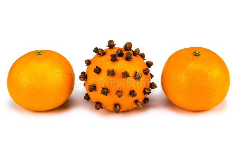 Individualidad y concepto de la diferencia Primer de la mandarina foto de archivo libre de regalías