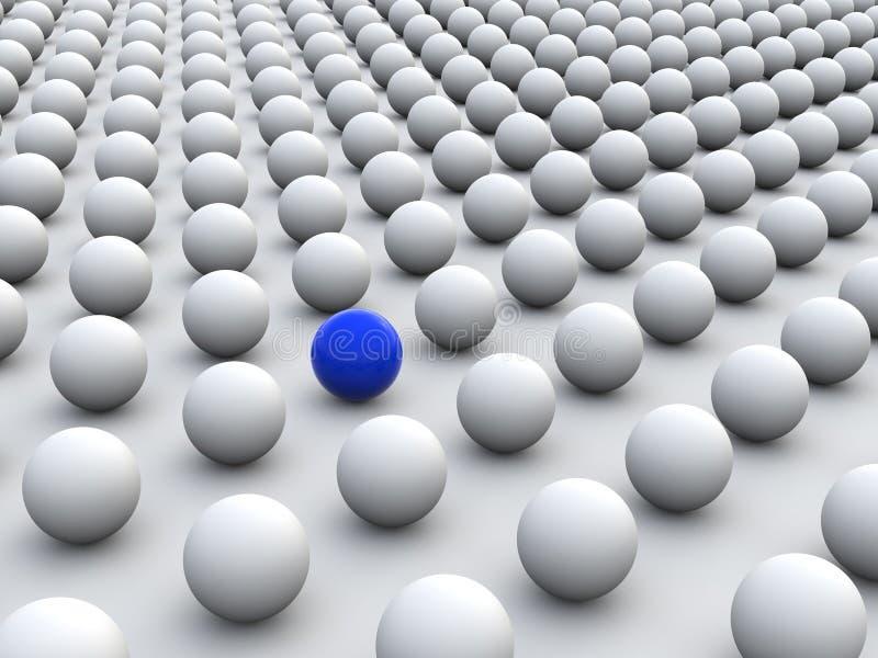 Individualismo illustrazione vettoriale