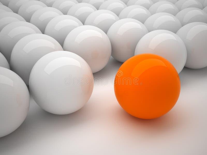 Individualiteit vector illustratie