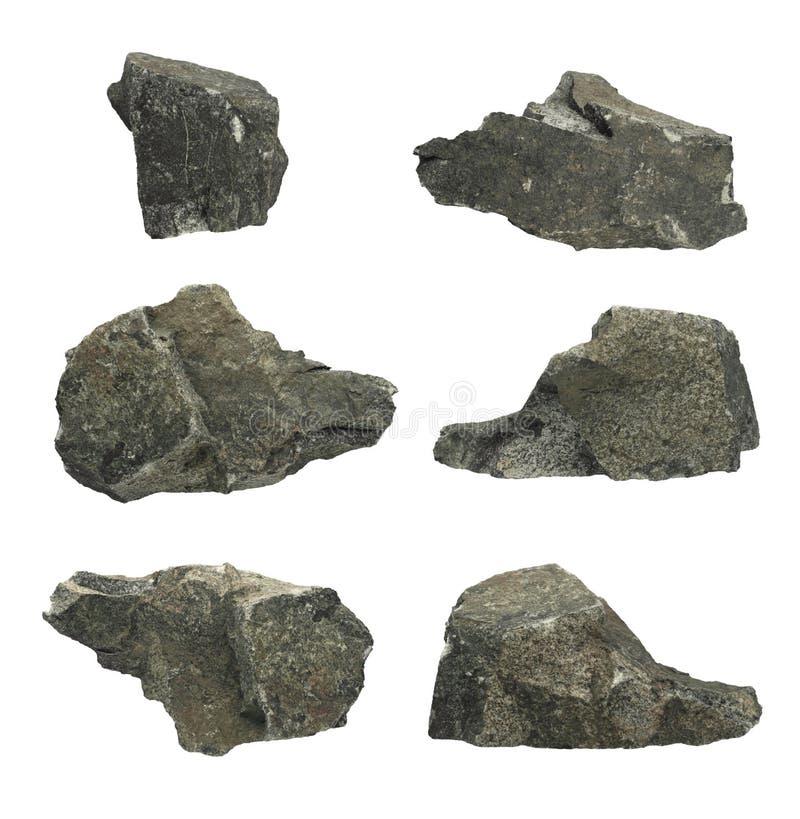 Individuele Rotsen royalty-vrije stock afbeeldingen