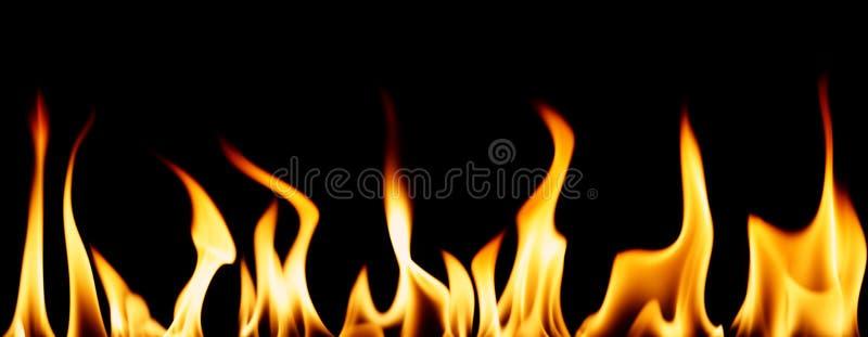 Individuele vlammen royalty-vrije illustratie