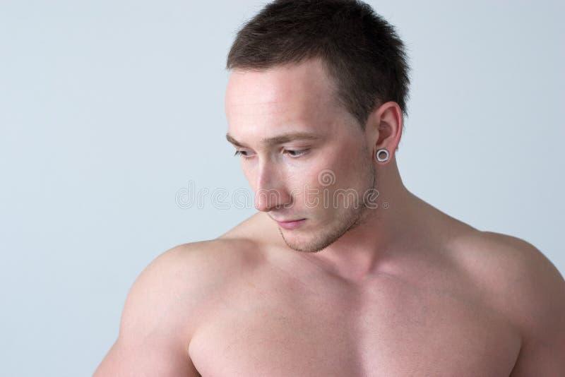 Individuo muscular fotografía de archivo