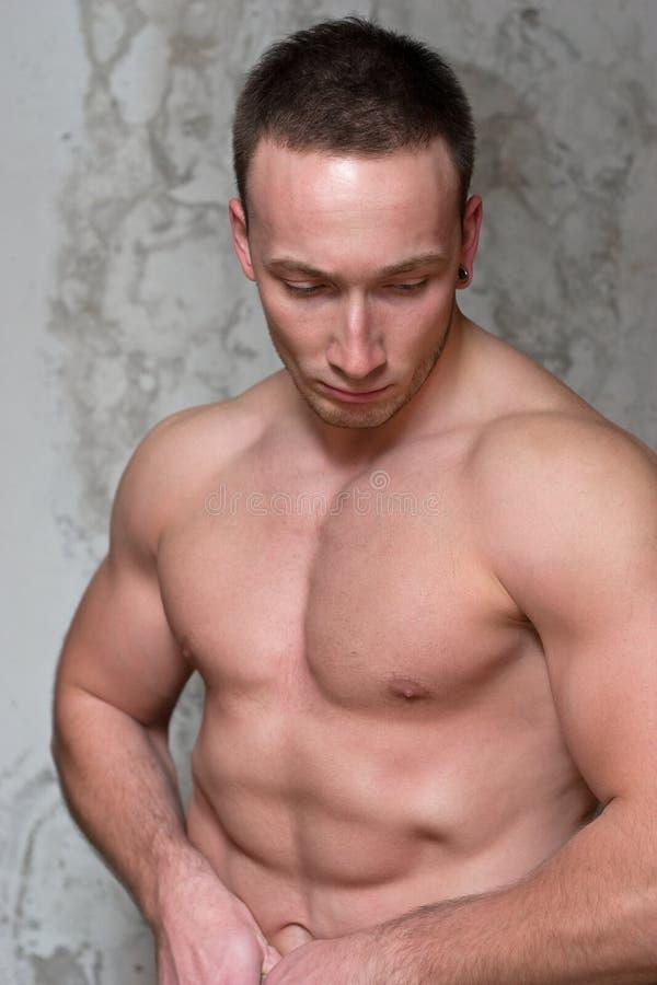 Individuo muscular fotografía de archivo libre de regalías