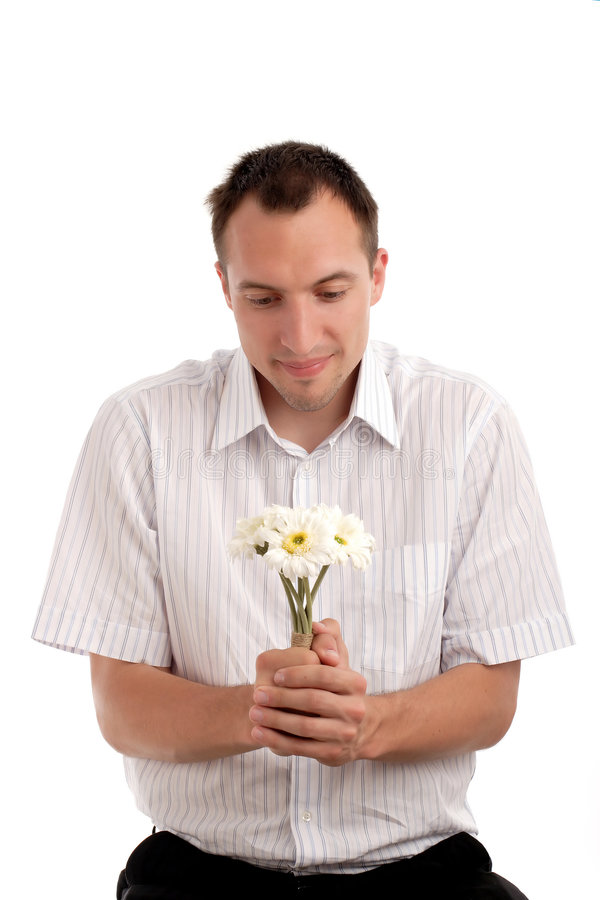Individuo tímido foto de archivo libre de regalías
