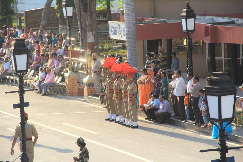 Indo-Pak Border-4. stock photos